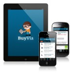 BuyVia App for iOS and Android