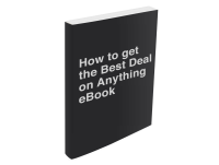 How to Get the Best Deal on Anything eBook