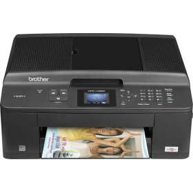 picture of Brother - Network-Ready Wireless Color All-In-One Printer