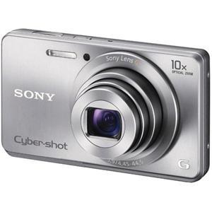 picture of Sony Cyber-shot DSC-W690 Digital Camera (Silver)