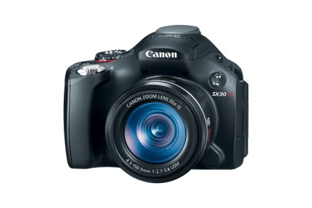 picture of Canon PowerShot SX30 IS 35x Zoom Refurbished Digital Camera