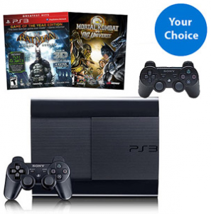 picture of PS3 250GB Combo Pack Bundle Holiday Sale