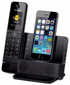 picture of Panasonic KX-PRL260B Link-to-cell Bluetooth Cordless Phone