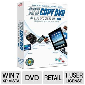 picture of Bling 123 Copy DVD Platinum 2012 Software Free