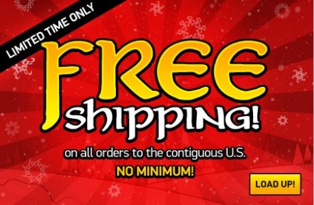 picture of Free Shipping at ThinkGeek