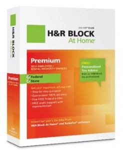 picture of H&R Block At Home Premium w/State 2012 Tax Software
