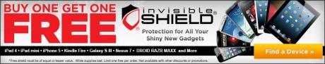 picture of Buy 1 Get 1 Free Invisible Shield Screen Protectors