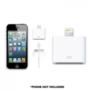picture of iPhone 5/iPad Mini Lightning to 30-pin Charging/Sync Cable Adapter
