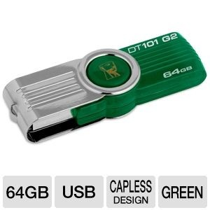 picture of Kingston 64GB USB Drive - 1 Day Only!