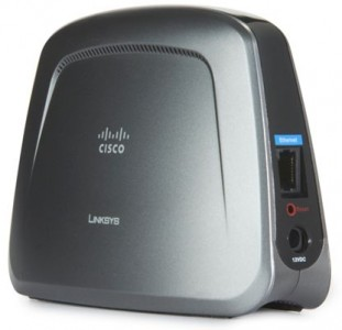 picture of Linksys Dual-Band Wireless N Entertainment Bridge