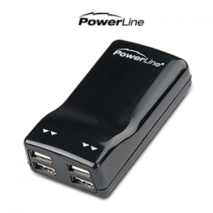 picture of PowerLine Four Port USB Power Adapter