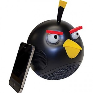 picture of Angry Birds Black Bird 2.1 Speaker System Sale