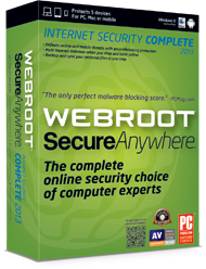 picture of Webroot SecureAnywhere 2013 w/$5 Newegg Card Free