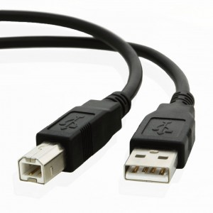 picture of Coboc 6 ft. USB 2.0 Low Price Printer Cable
