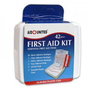 picture of Free 42 Piece Compact First Aid Kit for Car & Travel