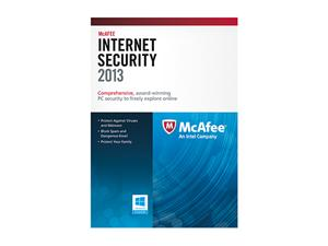 picture of McAfee Internet Security 2013 - 3 PCs Free