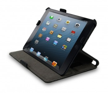 picture of rooCASE Slim-Fit Case for Apple iPad Mini (Black)