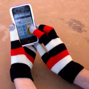 picture of Thermo Wear Insulated Touch Finger Gloves Sale