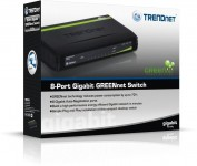 TRENDnet 8-Port Gigabit Switch for Wired Networking on Sale