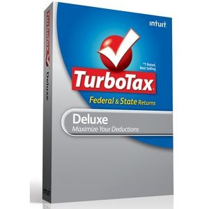picture of TurboTax Deluxe 2013 Federal + State Download Sale