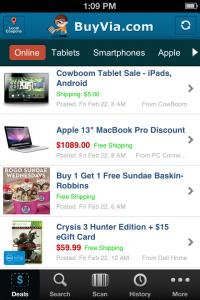BuyVia App v1.1