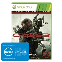 picture of Crysis 3 Hunter Edition + $15 Dell eGift Card Promotion