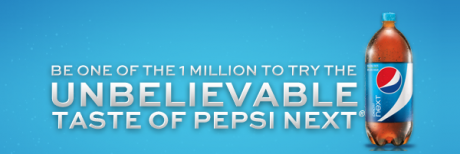picture of Free Pepsi Next 2 Liter Bottle