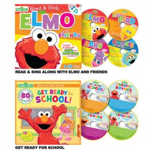 picture of Elmo Read & Sing CD & Book Set Sale