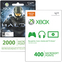 picture of Microsoft Points for Xbox LIVE & 400 Free Points