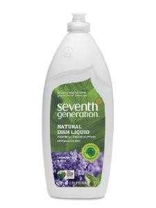 Seventh Generation Natural Dish Liquid Lavander Floral Mint