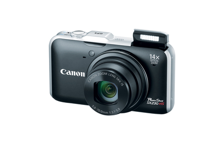 picture of 50% off Canon PowerShot SX230HS 12.1MP 14x Digital Camera Sale