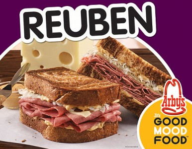 picture of Free Arby's Reuben Sandwich w/Purchase