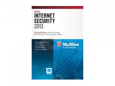picture of Free McAfee Internet Security 2013 + $5 Gift Card