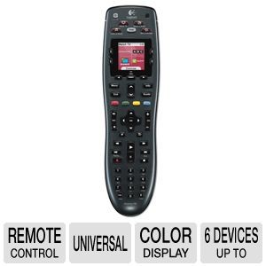 Logitech Harmony 700 Remote – Replaces 6 Remotes