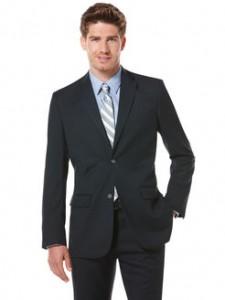 Perry Ellis City Fit Solid Suit