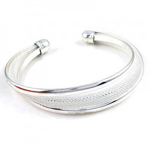 picture of Save $83 - Tiffany & Co Inspired Sterling Silver Bangle