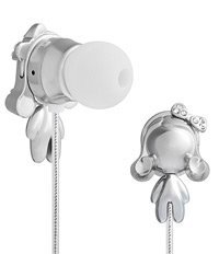 picture of Monster Harajuku Lovers Space Age In-Ear Headphones Closeout