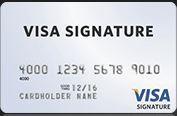 visa signature credit card