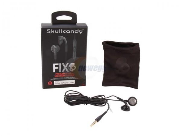 Deformación Fundador Derechos de autor  Skullcandy Fix Bud Stereo Earbud with Mic Sale $14.99 S3FXDM-033