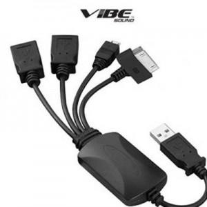 picture of Vibe High Speed 2 USB, 1 Mini USB and 1 Apple Genius Hub