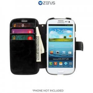 picture of Samsung Galaxy S3 Case w/ ID Slots - Black (75% off)