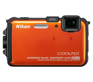 picture of Nikon Coolpix AW100 Shock and Water Proof GPS Digital Camera Sale