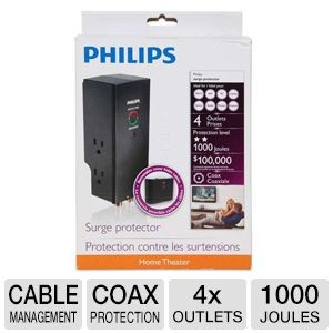 picture of Philips Home Theater Surge Protector Sale
