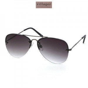 picture of Villager by Claiborne Aviator Glasses Sale
