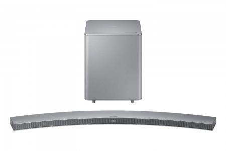 picture of Samsung 8.1 Curved Soundbar w/ Wireless Subwoofer Sale