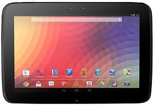 Google Nexus 10 Android Tablet Sale