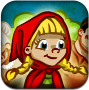 picture of Grimm's Red Riding Hood App - Free iPhone, iPad, iPod