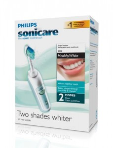 picture of Philips Sonicare HealthyWhite Rechargable Electric Toothbrush Sale