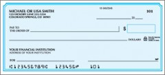 Box of 200 Checks for only $5.50