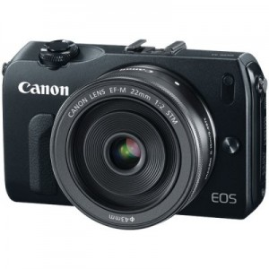 picture of Canon EOS M 18MP Compact Systems Camera